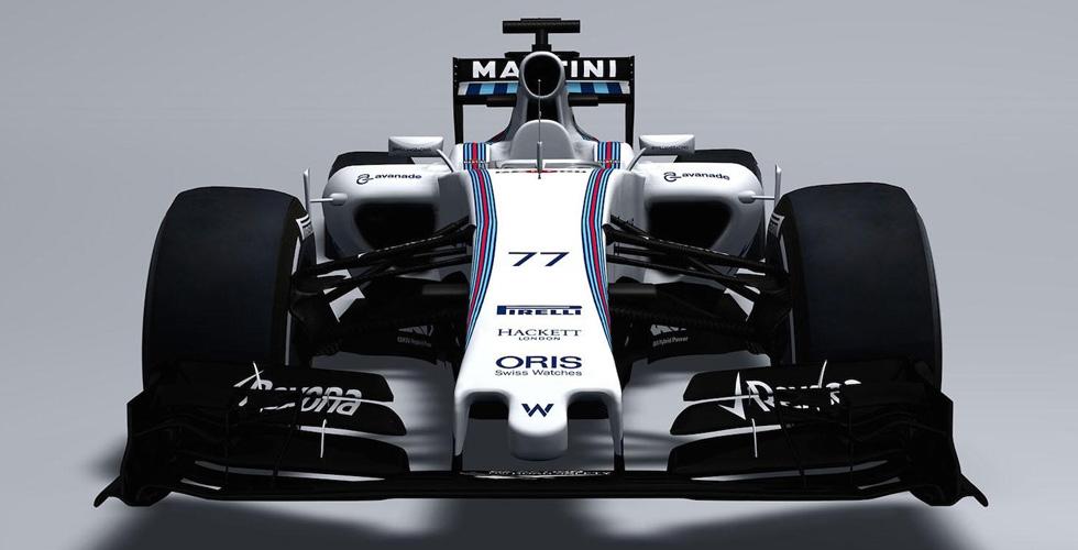 سيّارة وليامز لفورمولا 1، 2015