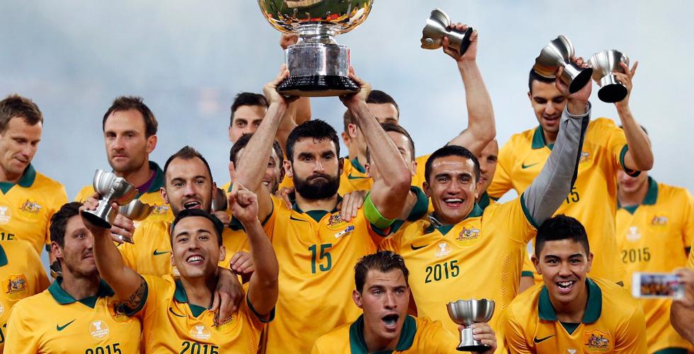 أستراليا تفوز بكأس آسيا