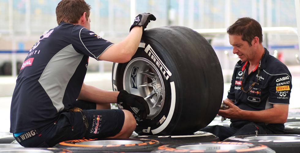 إطارات سيارات الفورمولا