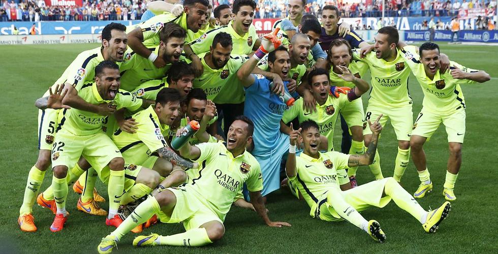 الويك إند الأوروبي:برشلونة بطلا لإسبانيا وبنفيكا للبرتغال
