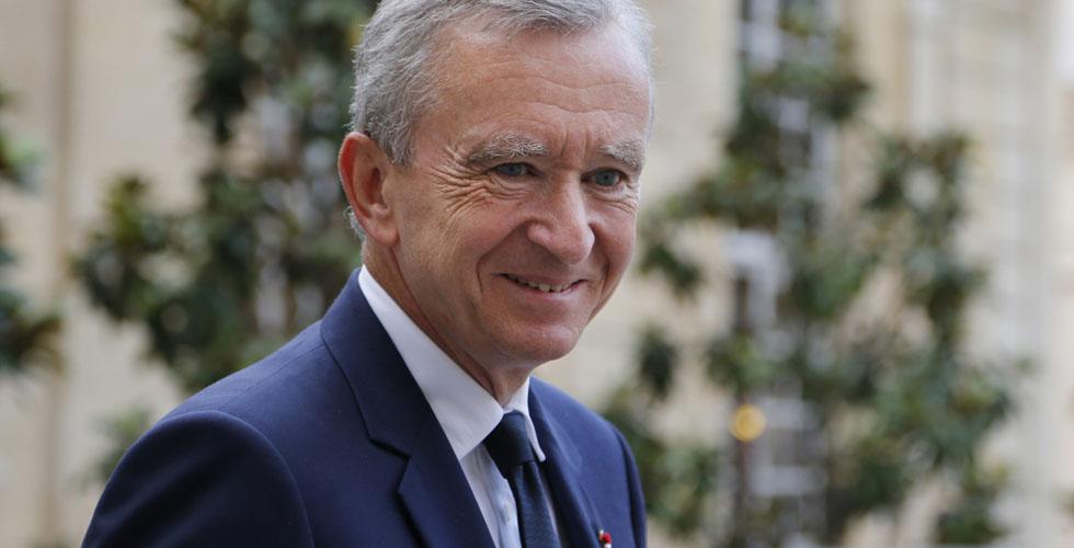 برنار أرنو أغنى رجل في فرنسا