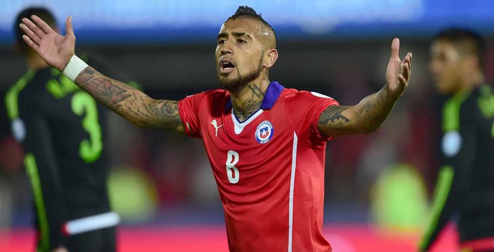 تشيلي تتقدّم الى كأس كوبا أمريكا