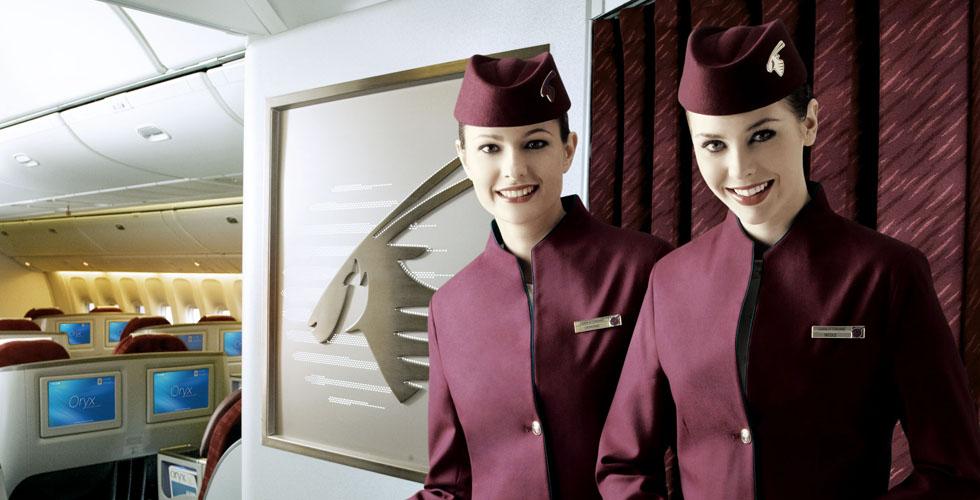 طيران قطر يُغيّر قائمة الطعام