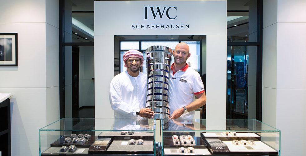 IWC ترحب بفريق ابو ظبي الفائز