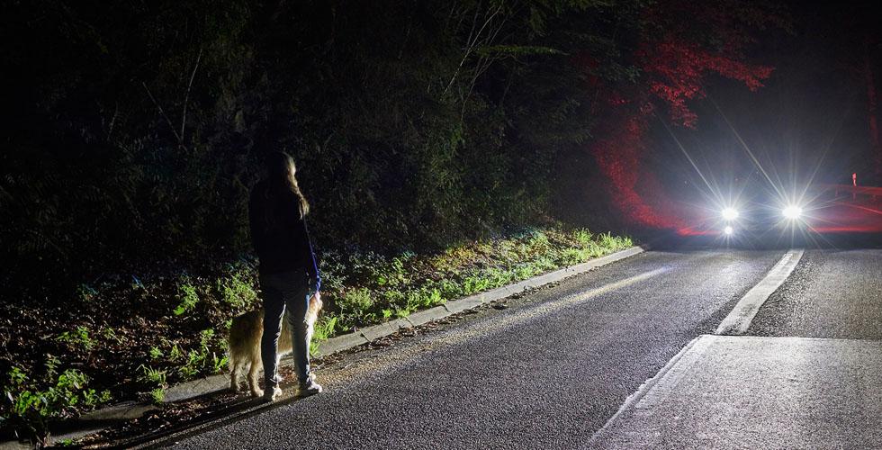 بالفيديو: مصابيح اماميّة ذكيّة من فورد