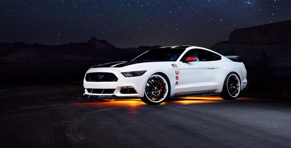 اليكم الفورد Mustang Apollo الآتية من الفضاء