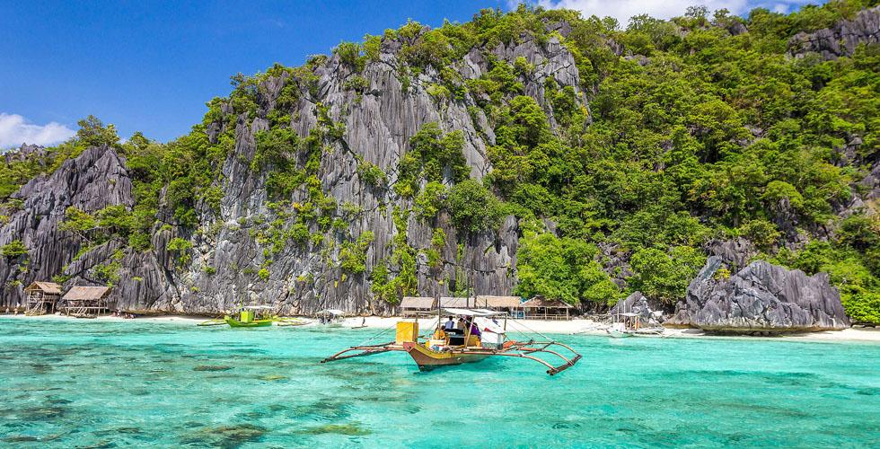 جزيرة بالاوان في الفيليبين