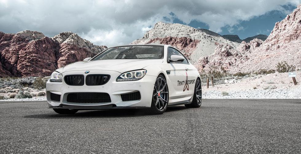 الM6 BMW تكتمل مع نظام Vorsteiner
