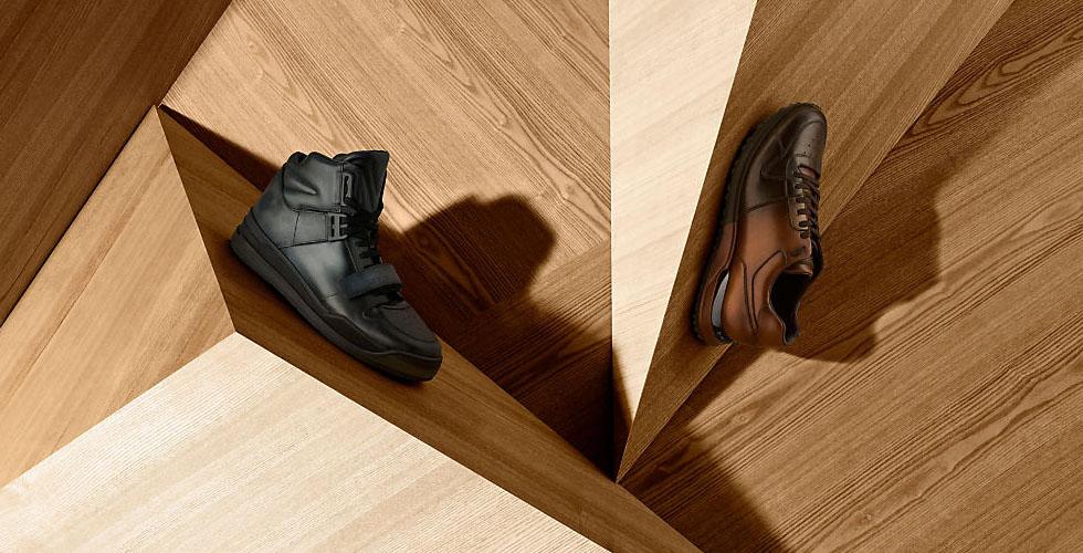 مجموعة أحذية فاخرة جديدة من لويس فيتون