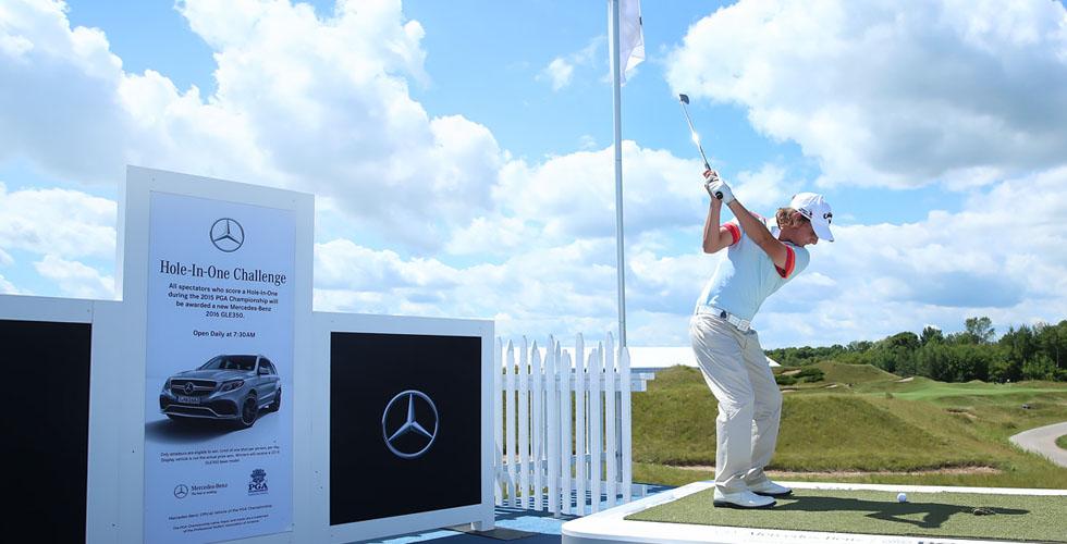 مرسيدس- بينز في بطولة 2015  PGA للغولف