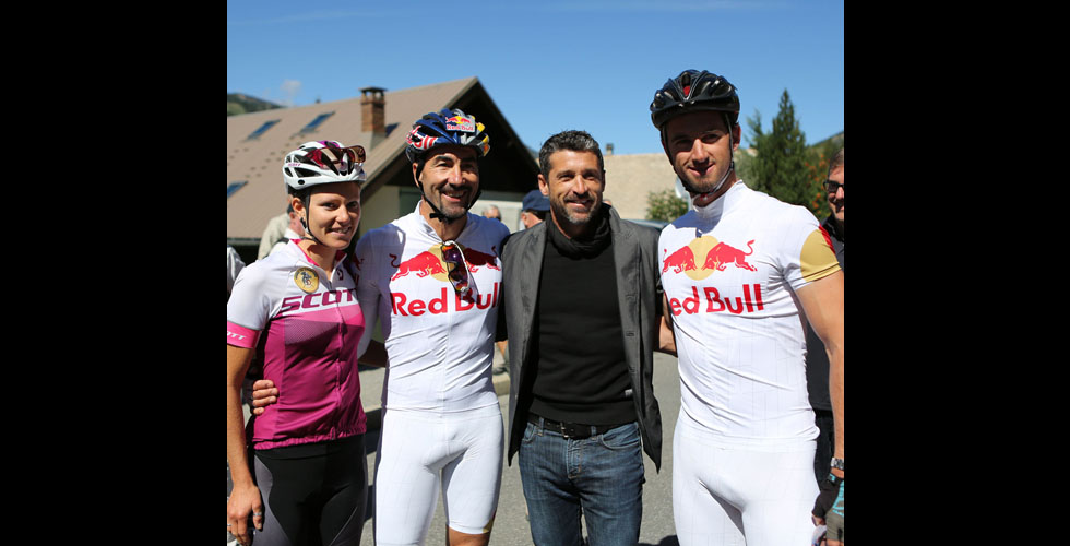 باتريك ديمبسي يتحدّى نفسه في سباق ال Haute Route