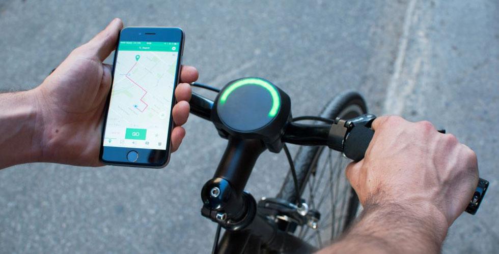 هذا الجهاز يحوّل أي درّاجة هوائيّة الى درّاجة ذكيّة