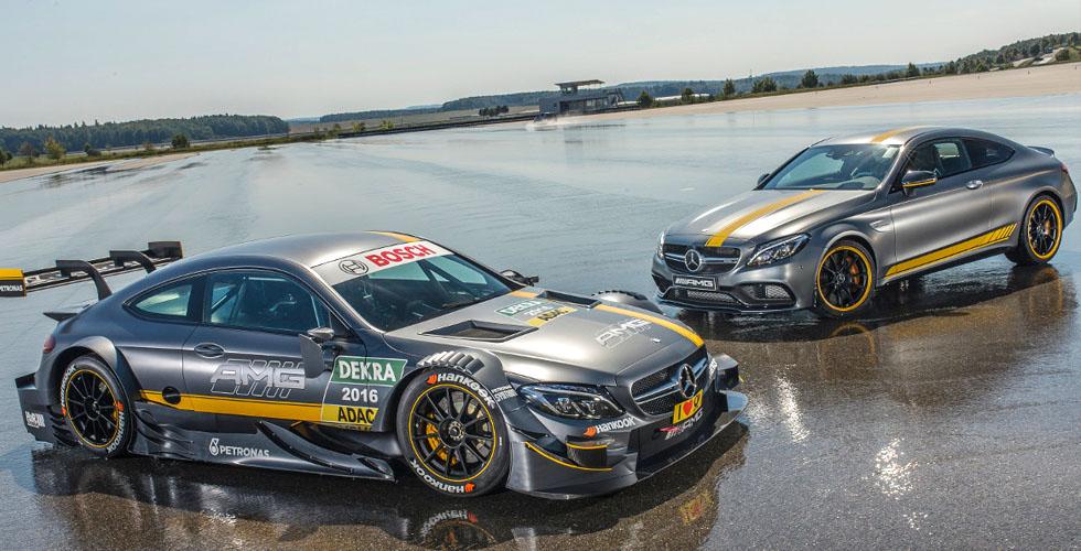 فريق مرسيدس AMG DTM يقدّم سيّارته الجديدة