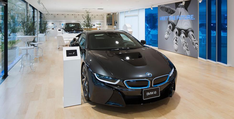 أوّل صالة عرض ل-BMW i في طوكيو