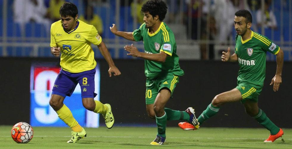 النصر والاهلي يندفعان في الدوري السعودي