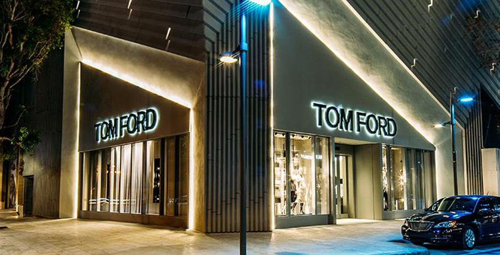 متجر جديد فاخر لتوم فورد في ميامي