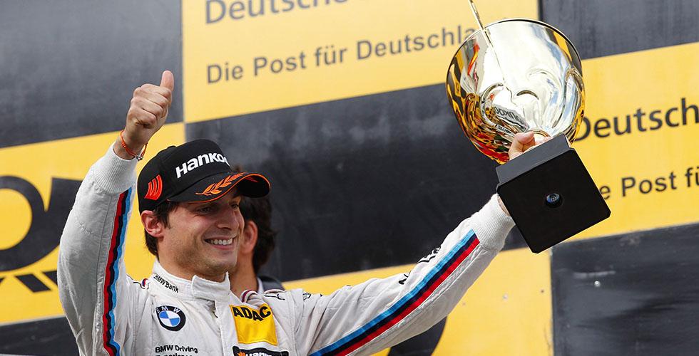 سبينغلر يأخذ المركز الثّالث في سباق DTM
