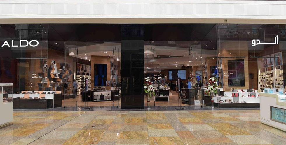 أكبر متجر لألدو في دبي فستيفال سيتي مول