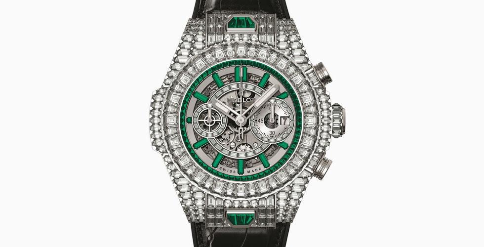 ساعة بيغ بانغ اونيكو بمليون دولار