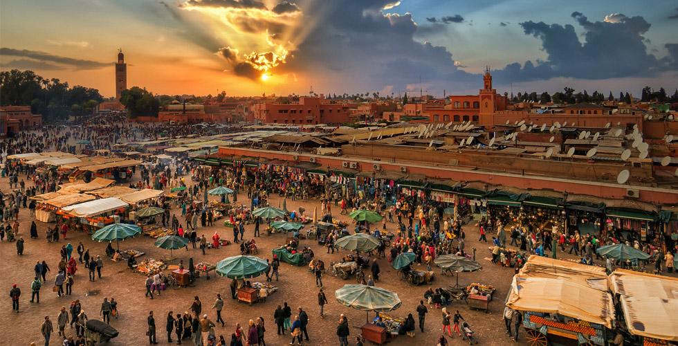 سينما الشرق والغرب في المغرب