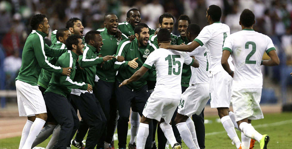 لقاء مصيري للمنتخب السعودي ضد المنتخب الفلسطيني