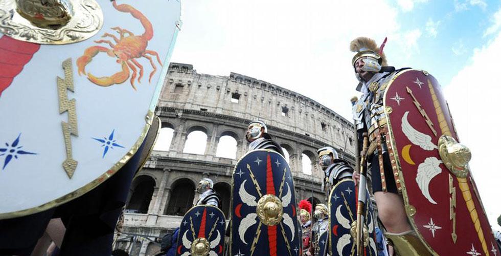 الزي الروماني ممنوع في روما