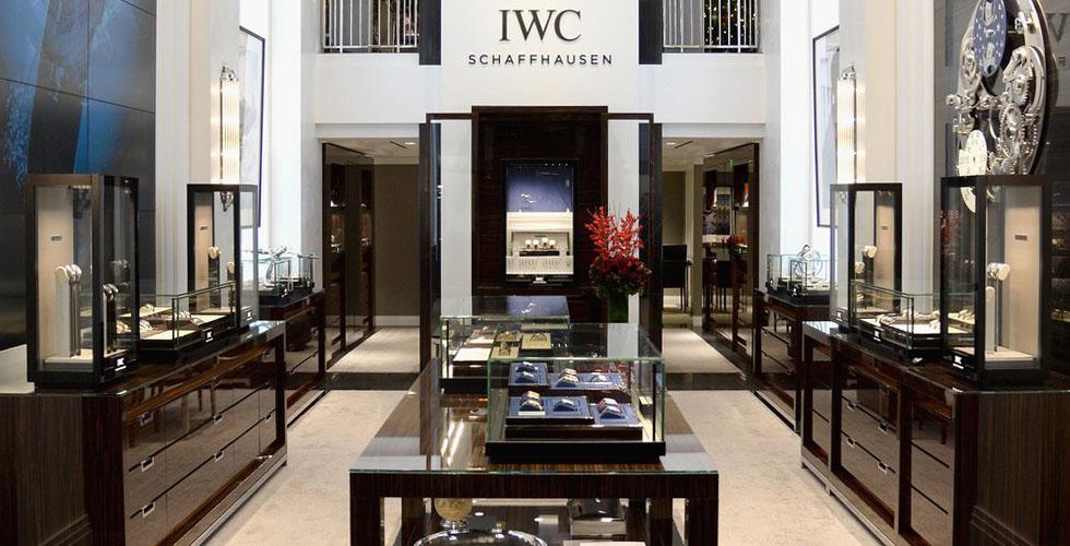 متجر ل IWC في لوس أنجلوس
