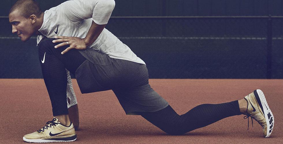 الحذاء الذهبي من Nike
