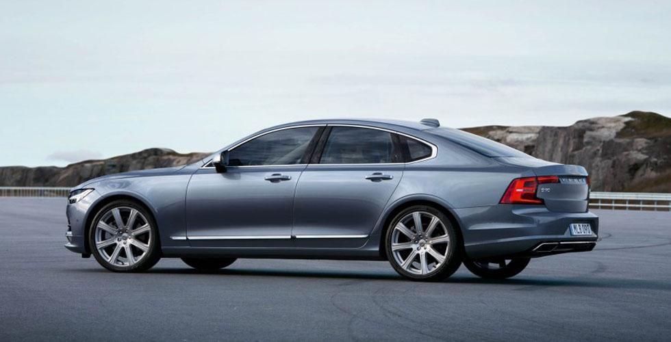 الأمل في S90 الجديدة من Volvo