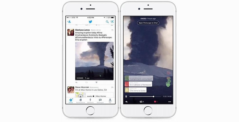 تغريدات  Periscope  تجري قريباً بنفسها