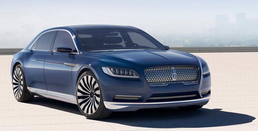 Lincoln Continental 2017 الرفاهية