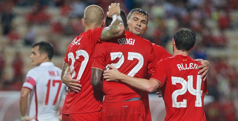 ليفربول الى النهائي الانجليزي
