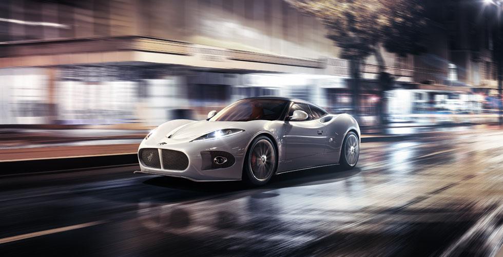 سيّارة جديدة من Spyker  الى معرض جنيف