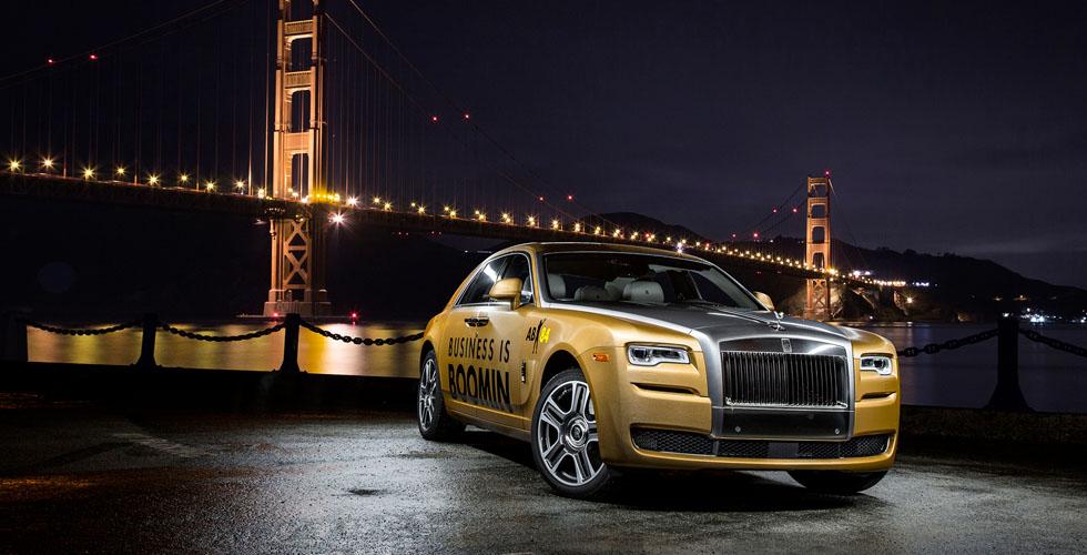 Rolls-Royce  بالّذهب للمناسبة الذهبيّة