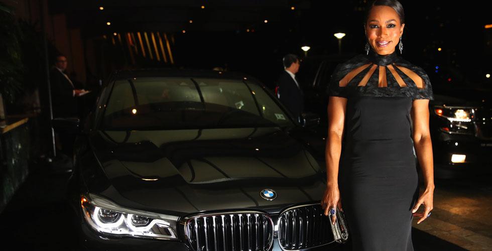 BMW  على سجّاد هوليوود الأحمر