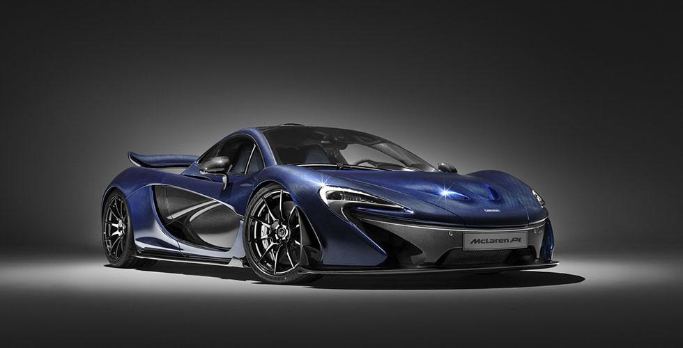 McLaren P1  العارية في جنيف