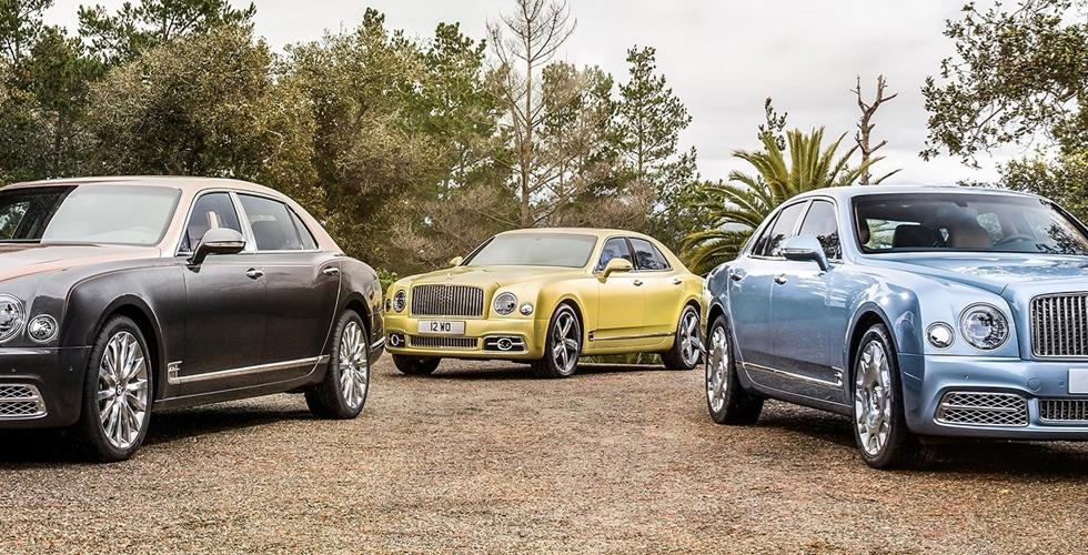 Bentley Mulsanne: عنوان الرفاهيّة إلى جنيف