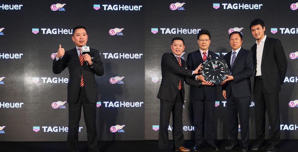 TAG Heuer وكرة القدم الصينية