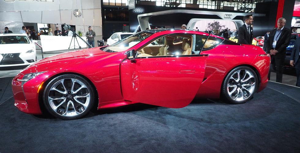 بداية ال Lexus LC 500  في نيويورك