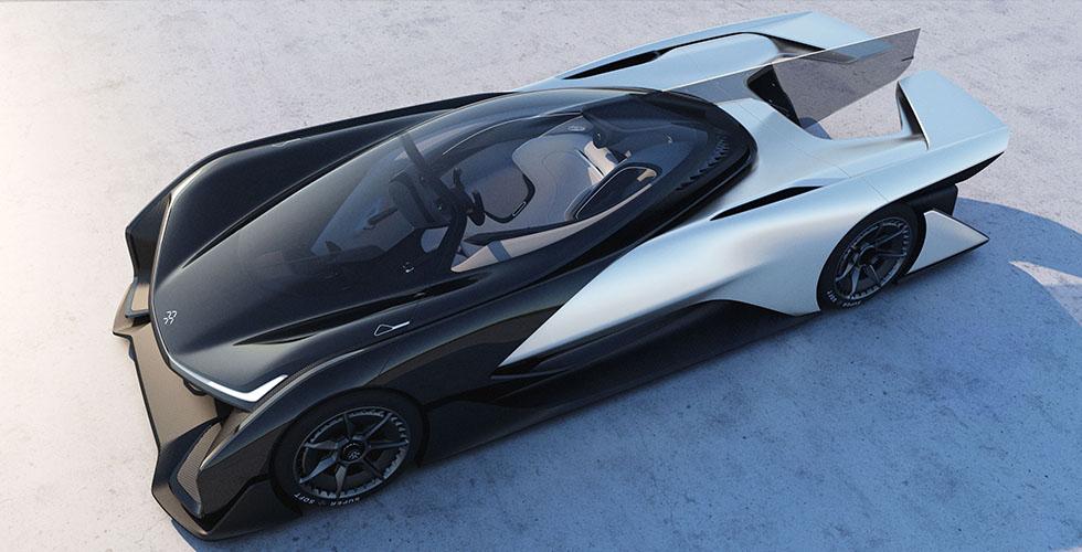 سيّارة كهربائيّة من Faraday Future