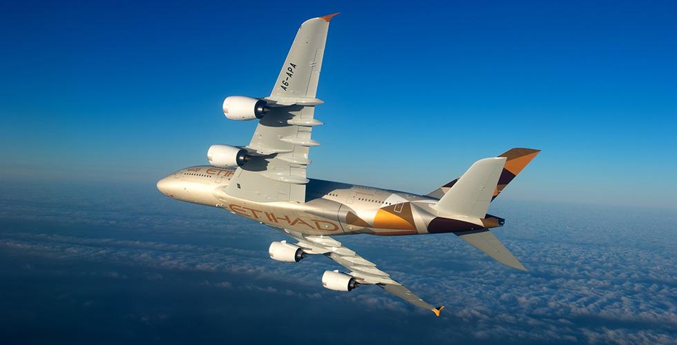 الهند تستقبل A380 من الاتحاد