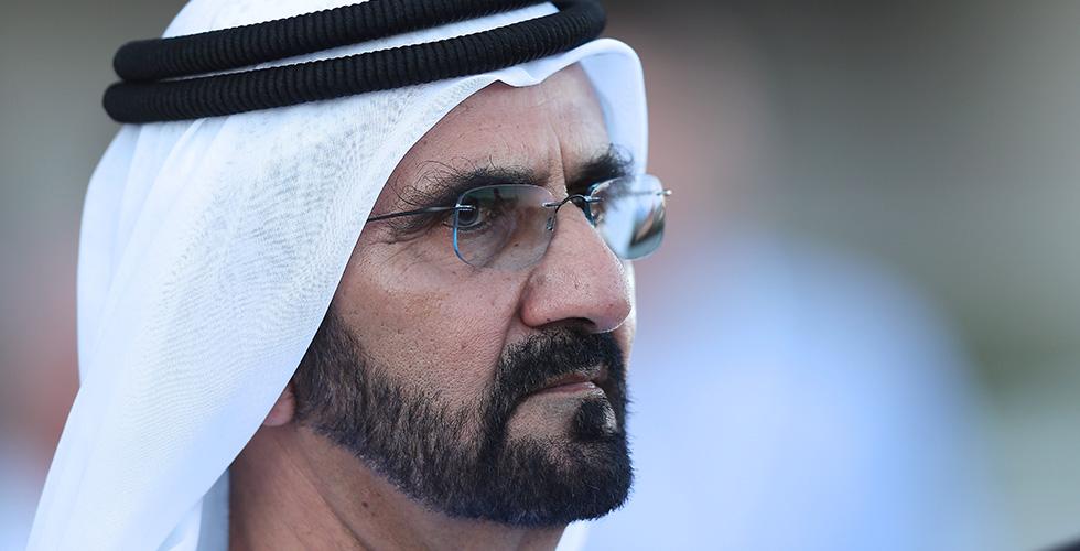 حاكم دبي يدعو الى اعلام ايجابي