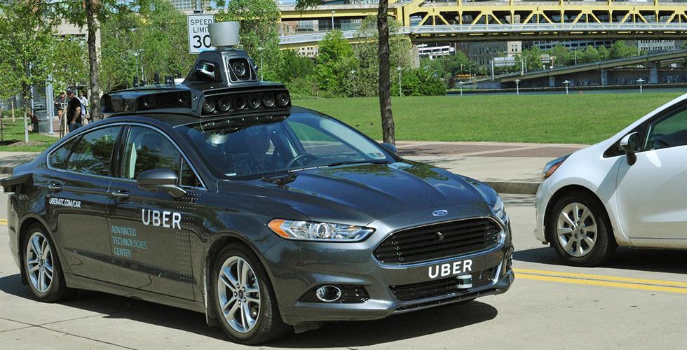 أوّل سيّارة مستقلّة من Uber