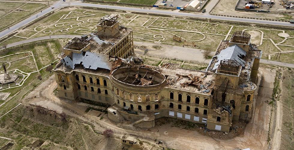 ترميمُ القصور التاريخية في كابل