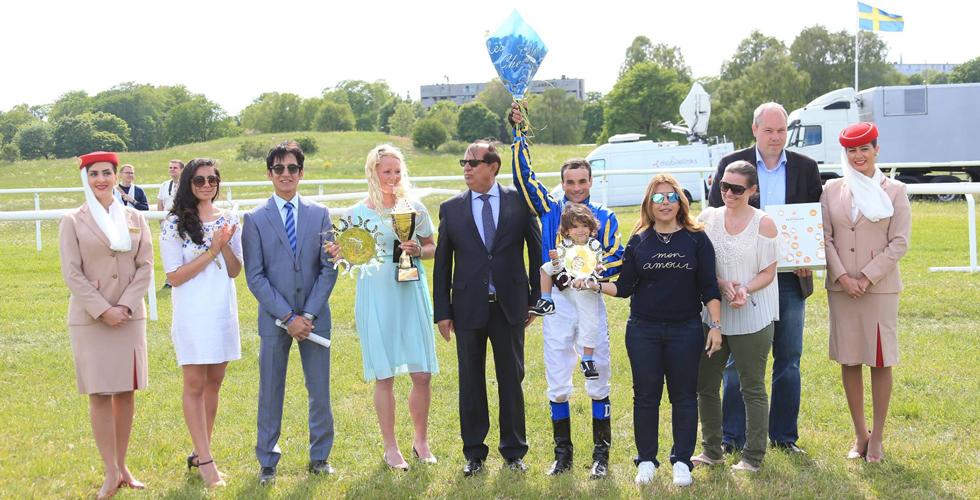توتاتكس بطل جولة كأس زايد في السويد