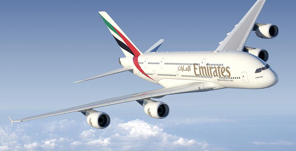 A380 الإماراتية نحو موسكو