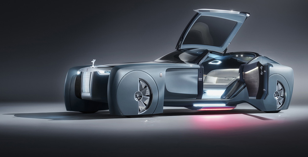 هذه Rolls Royce  المستقبل