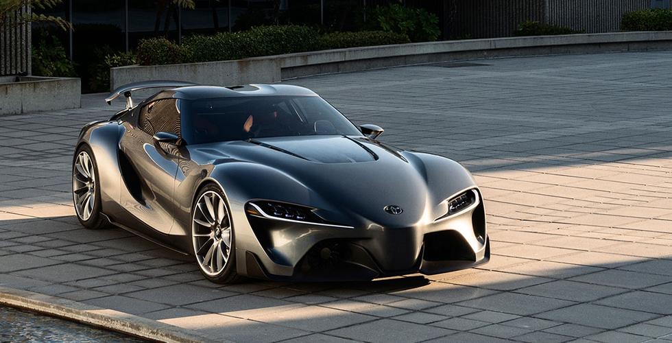 Toyota Supra  بتقنيّة  BMW