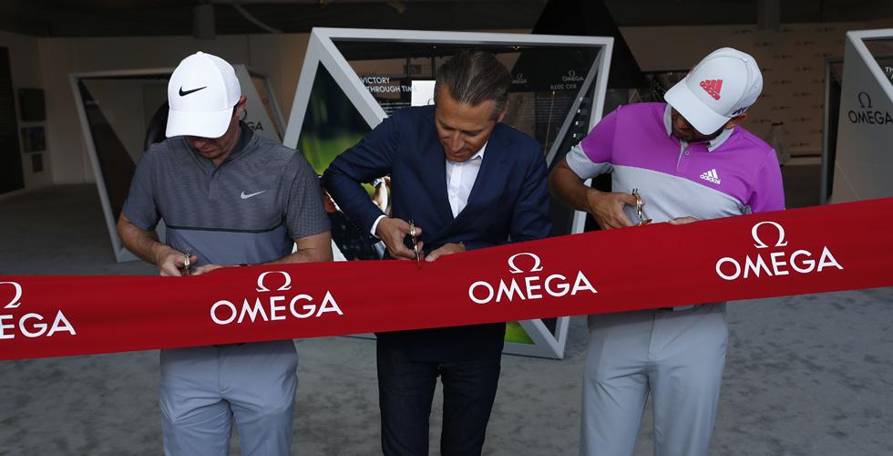 OMEGA ومعرض بطولة الجولف