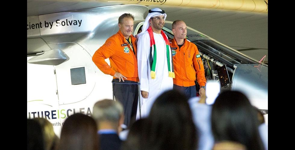 ابوظبي تقدّر الطائرة الشمسية